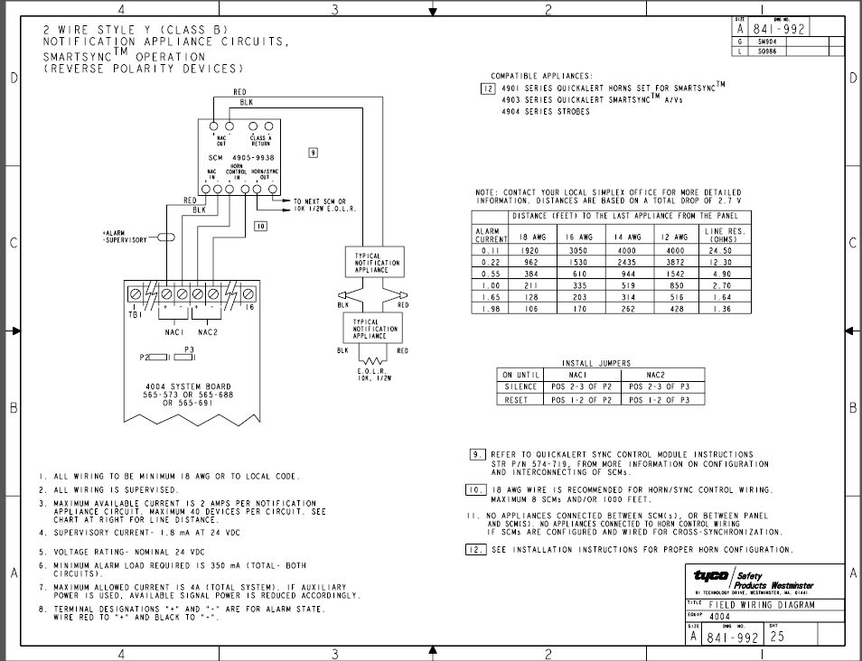 Do Basic Conventional FACPs Have MarchTime Coding The Fire - Notifier sfp 2404 wiring diagram