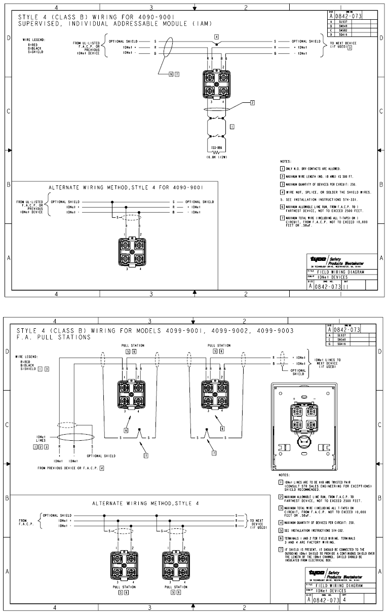 simplex wiring diagram information schematics wiring diagrams Profibus Wiring-Diagram